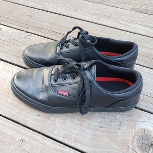 Levi's Men's Ethan Napa Black Sneakers - 9.5